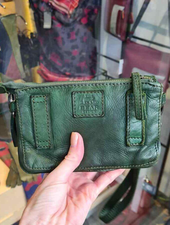 Groen Tasje dames polsbandje Bear Design