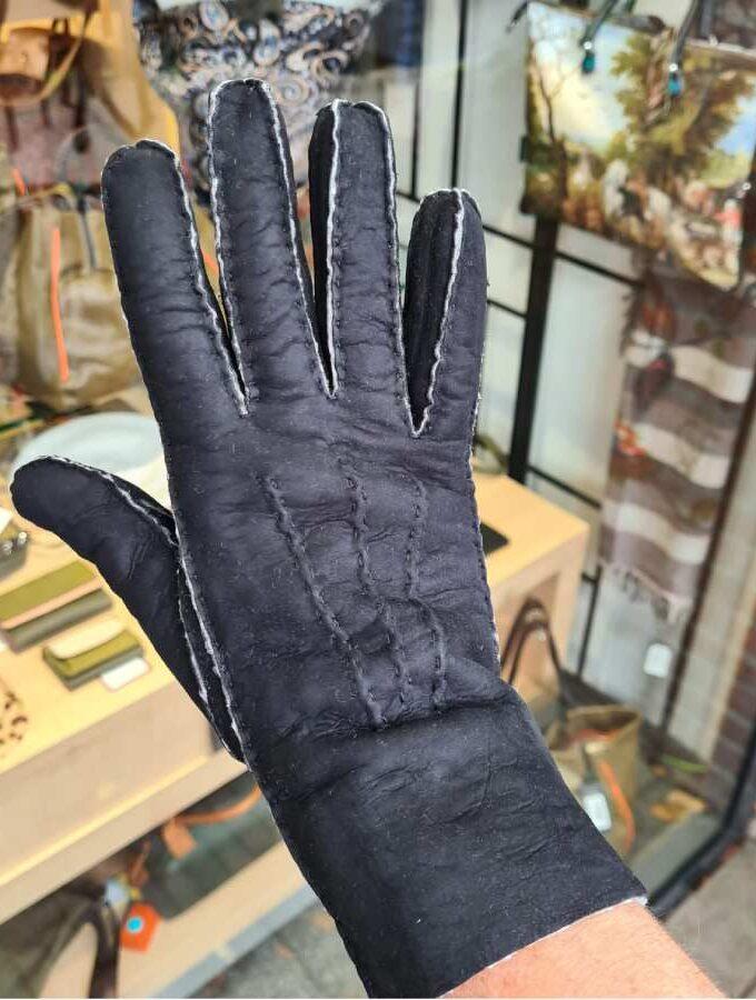 Lammy handschoenen dames zwart
