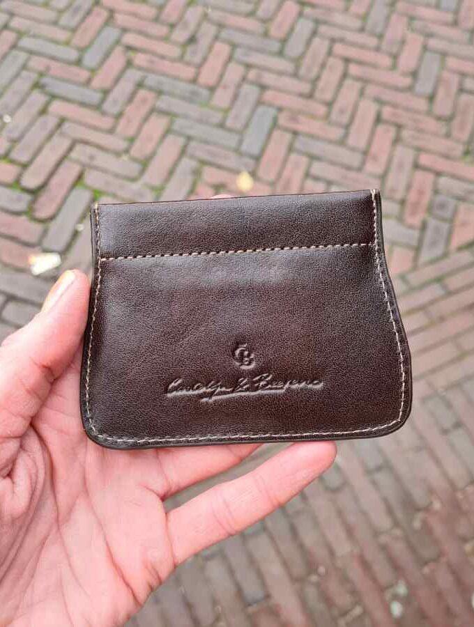 Castelijn & Beerens Clic-Clac portemonnee bruin