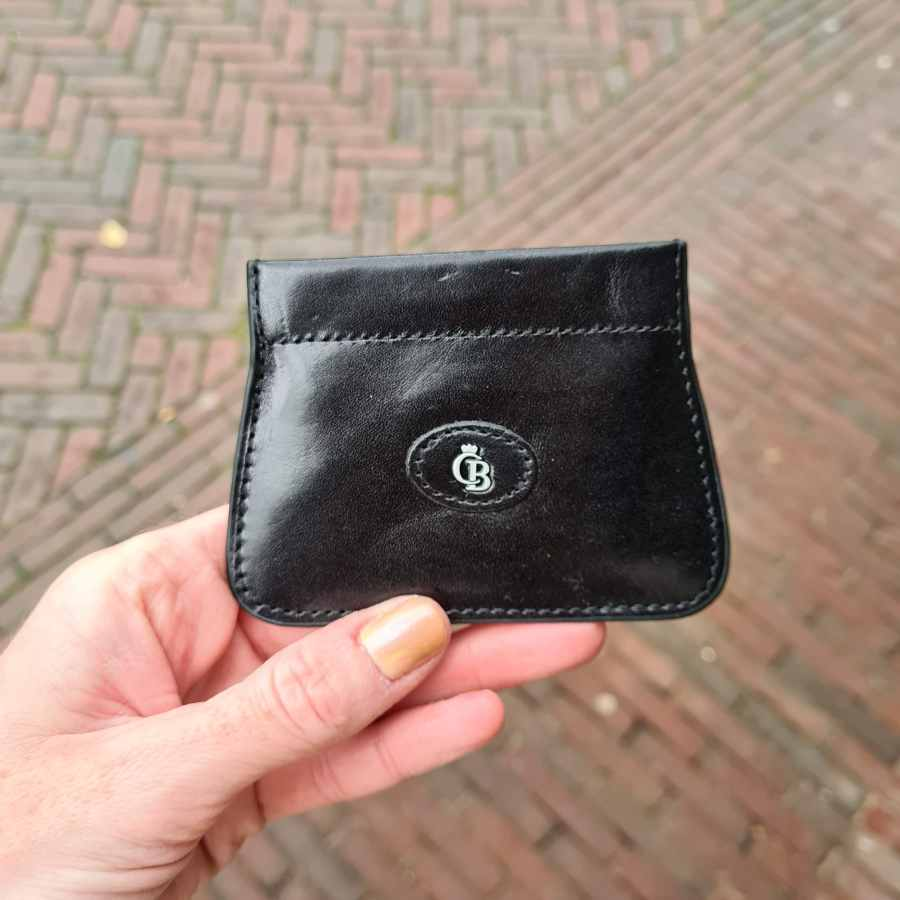 Knipportemonnee voor kleingeld van CB