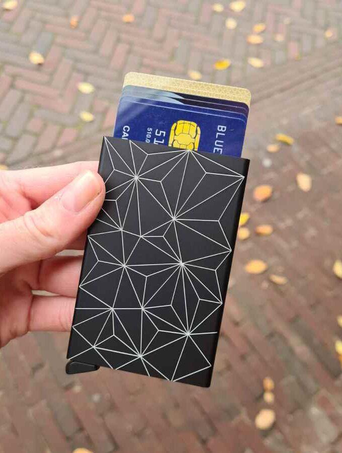 Secrid Cardprotector Facade laser zwart wit