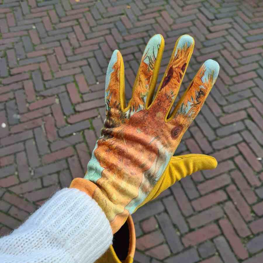 Van Gogh Zonnebloemen zachte handschoenen