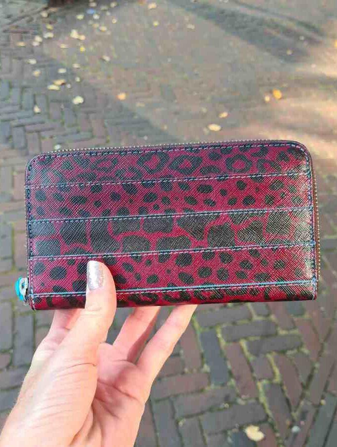 Gabs luipaard print portemonnee