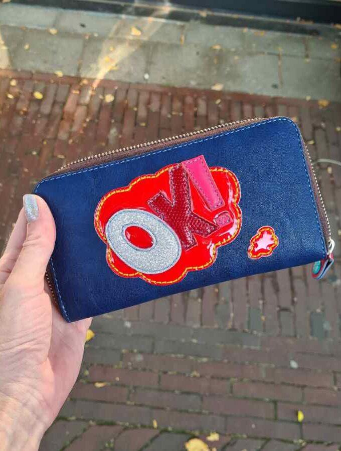 Gabs portemonnee blauw
