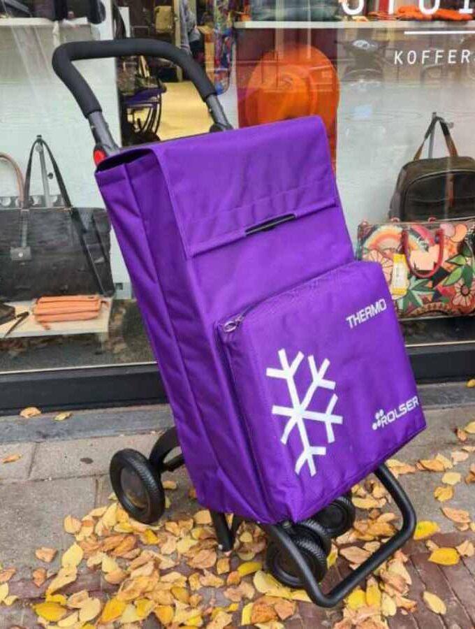ROLSER boodschappenkar Termo Fresh in paars