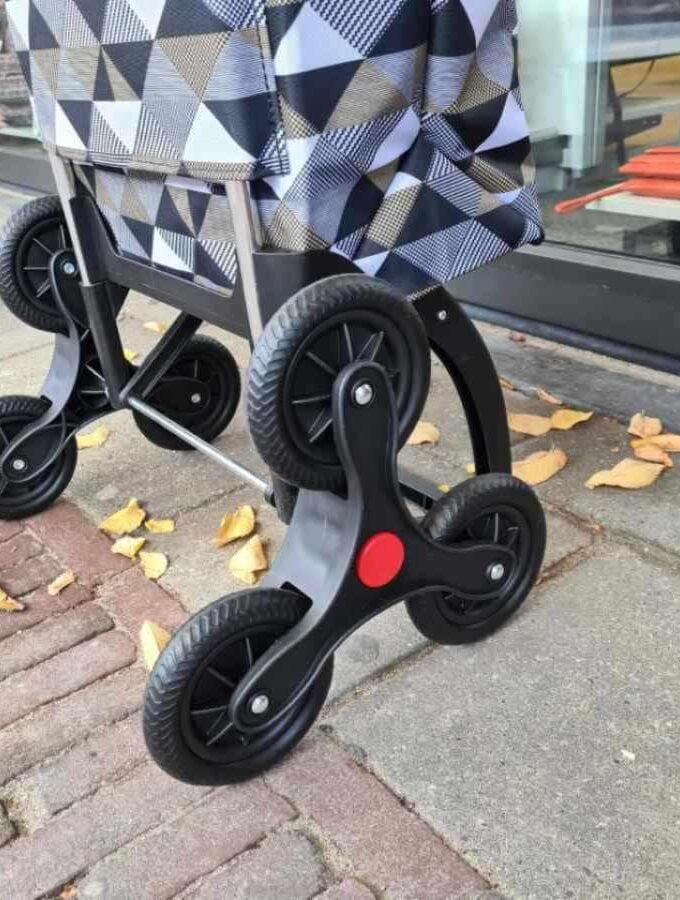 Rolser boodschappenkar print wielen