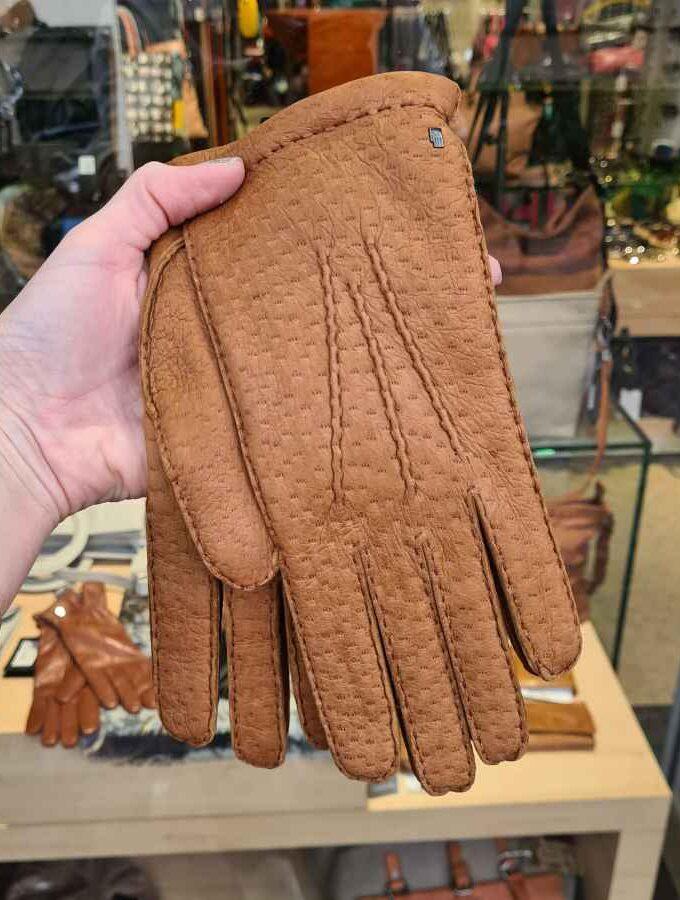 Roeckl peccary handschoen cashmere voering
