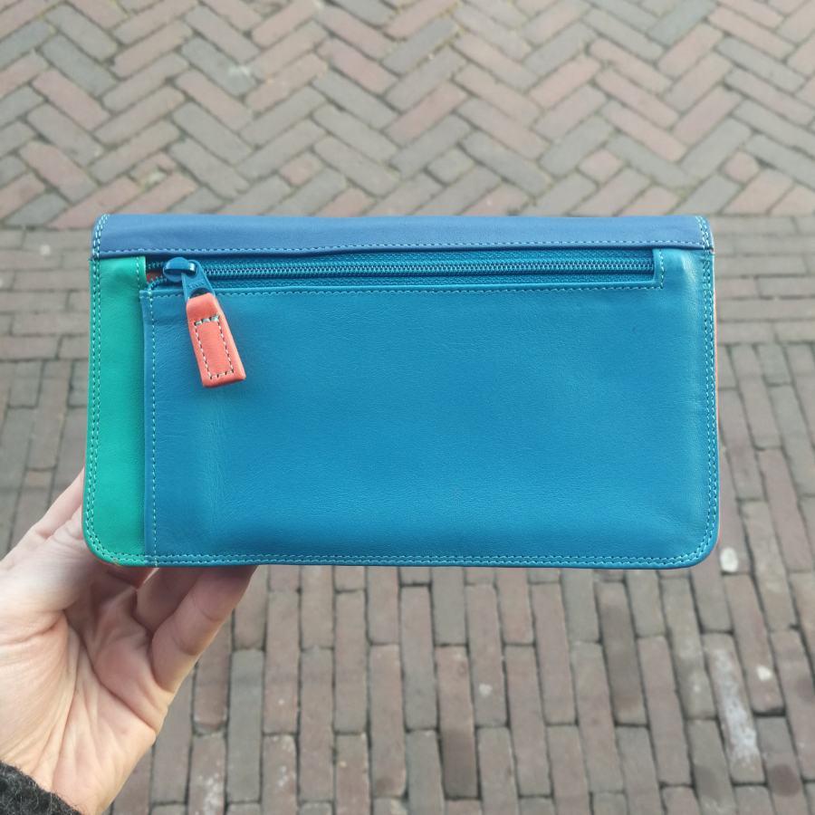 MyWalit portemonnee blauw tinten