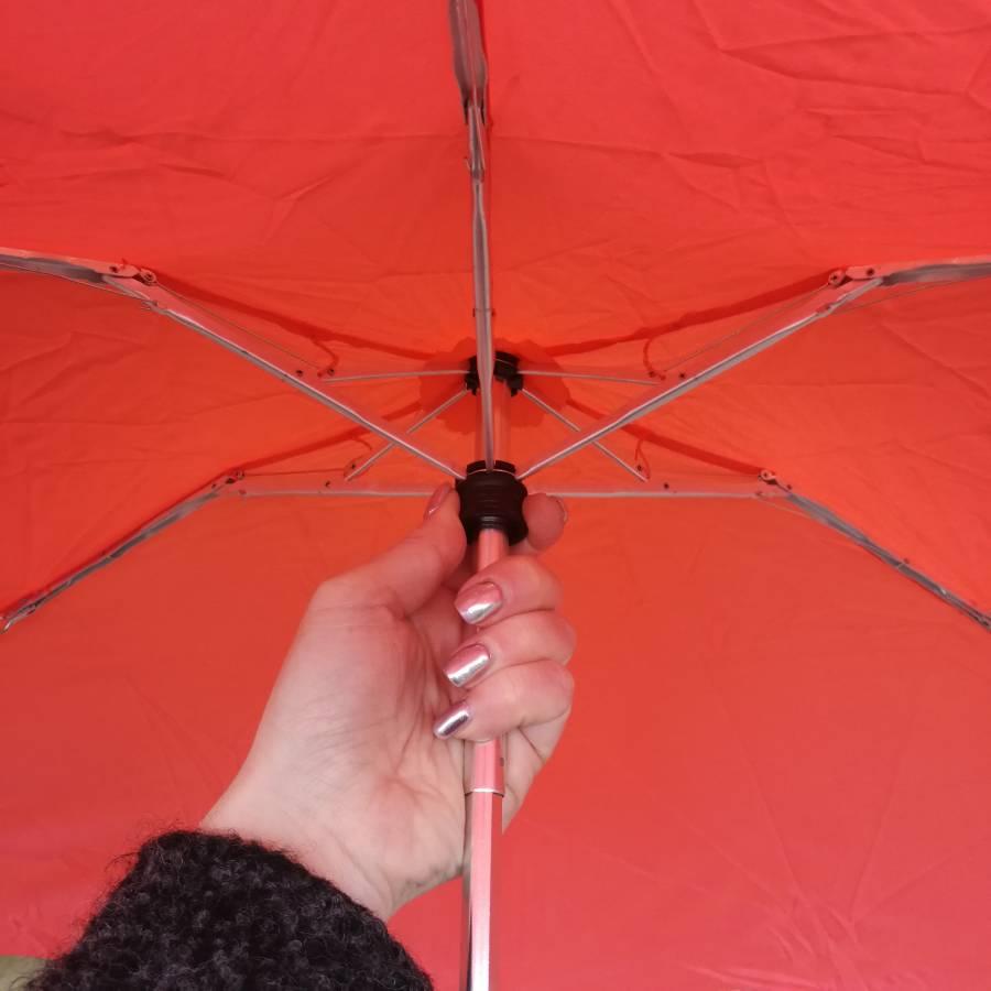 Esprit Petito paraplu oranje roze