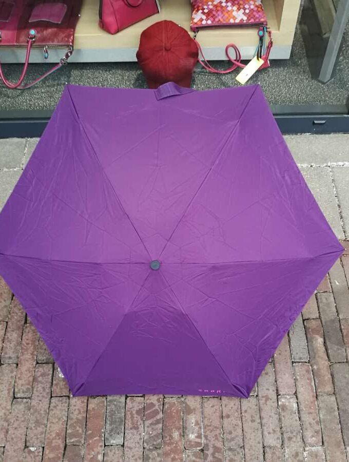 Esprit paraplu Petito in donkerpaars