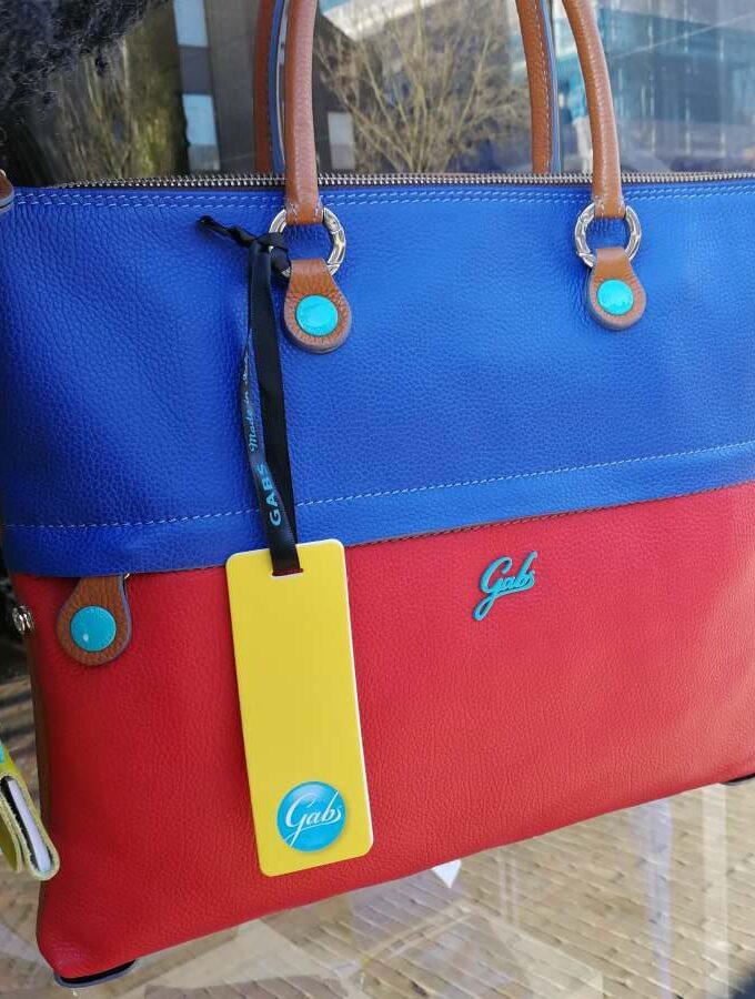 Gabs G3 Plus M blauw met rood