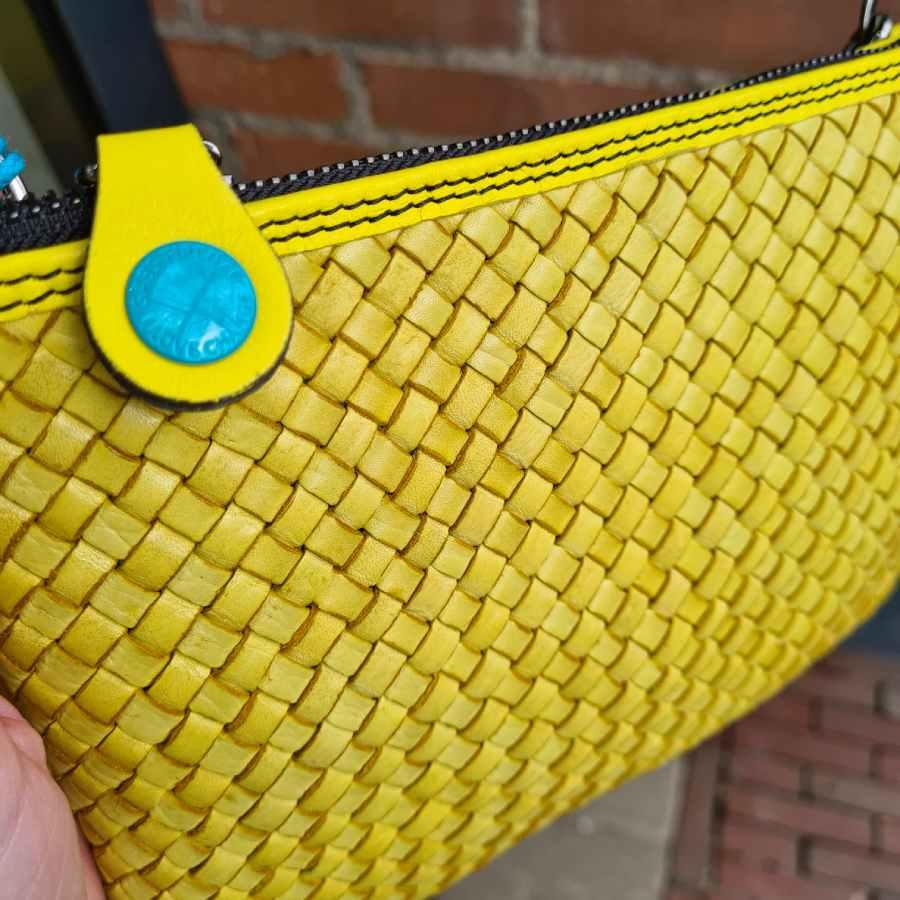 Gabs Beyonce geel gevlochten limone