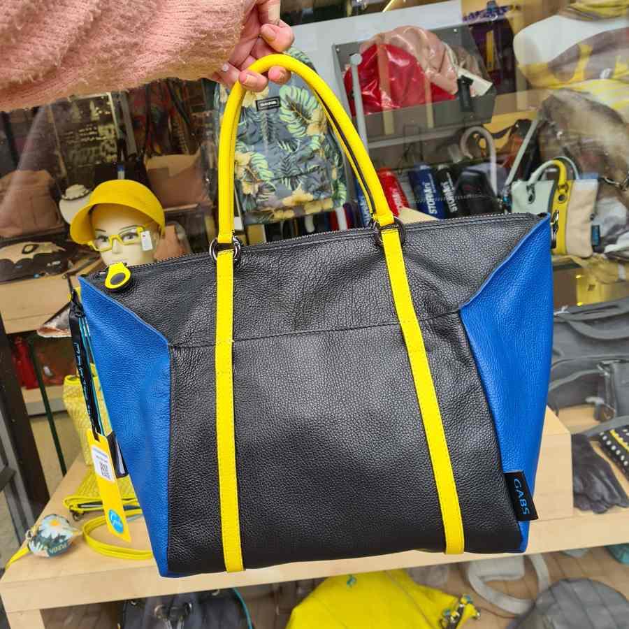 Gabs zwart blauw geel siria L