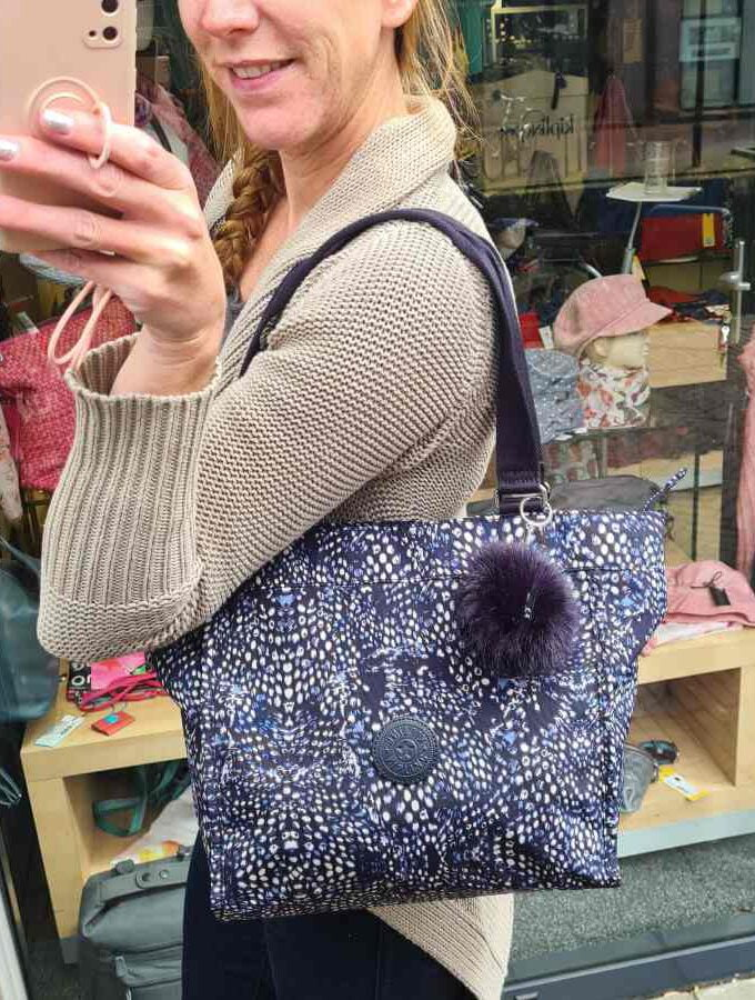 Kipling New Shopper S Soft Feather