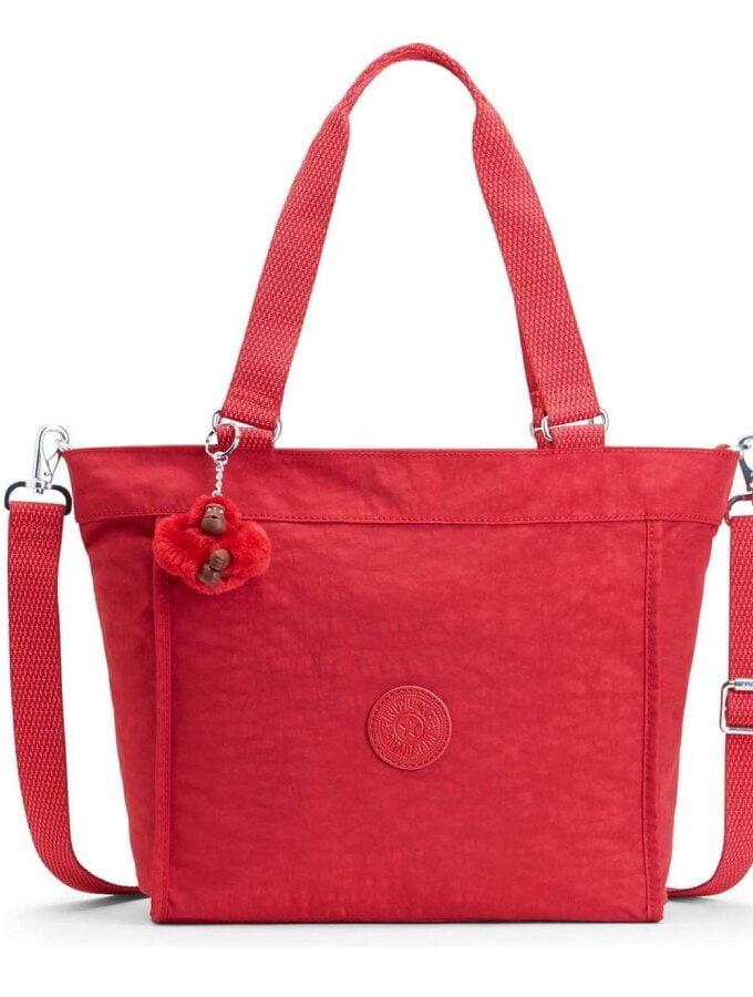 Kipling shopper Small Radiant Red