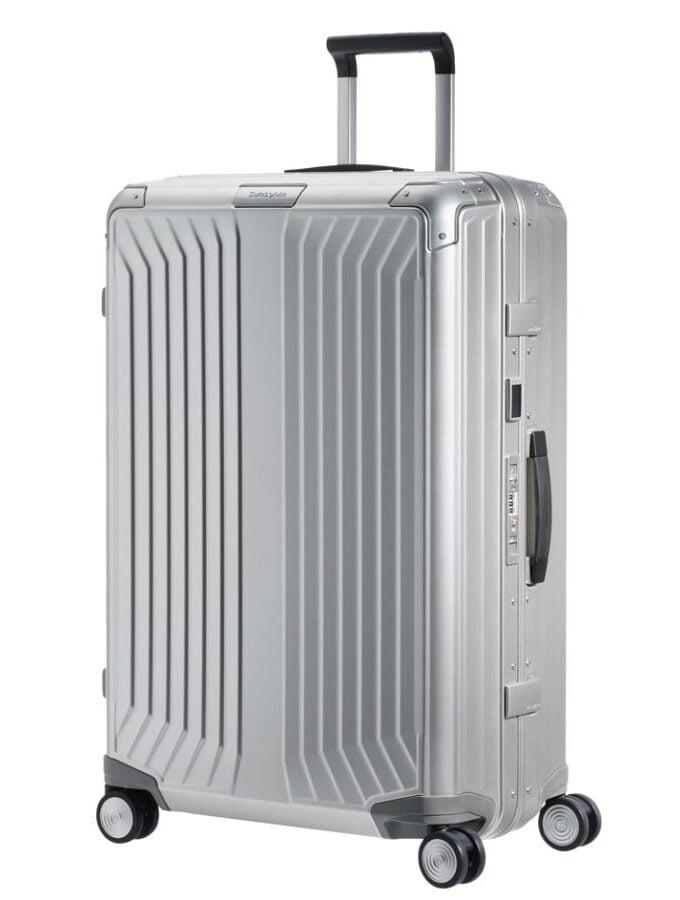 Samsonite Lite-Box Alu Spinner 76cm Alumium