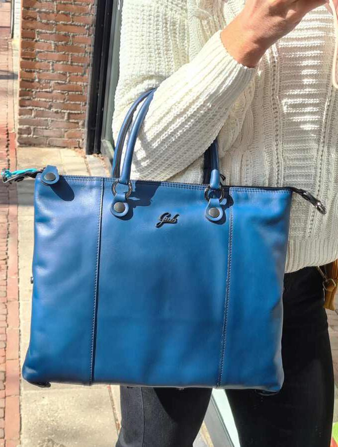 blauwe gabs tas g3 plus medium