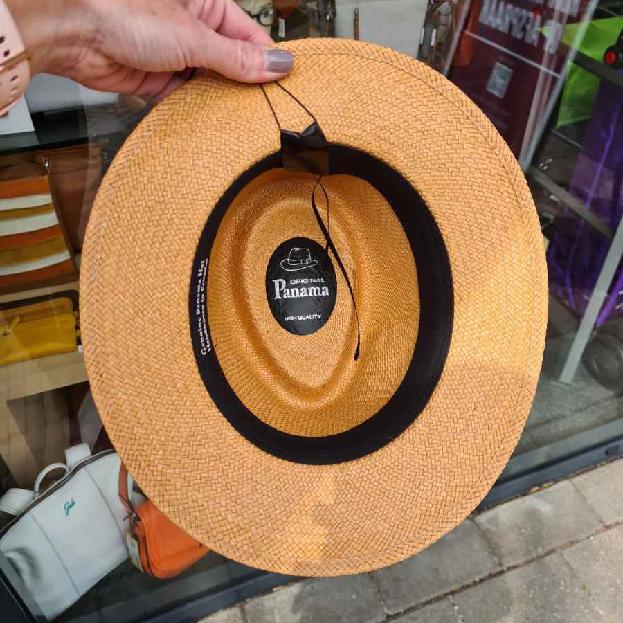 echte panamahoed made in ecuador