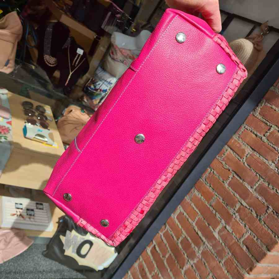 gabs gsac fuxia roze gevlochten luxe onderkant