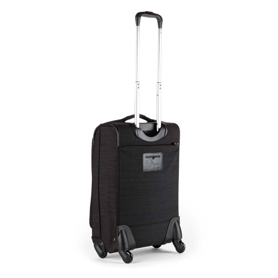 kipling koffer zwart dazz handbagage achterkant