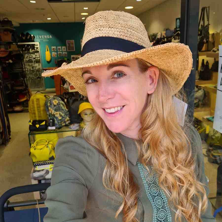 hoed echt stro cowboy brede rand