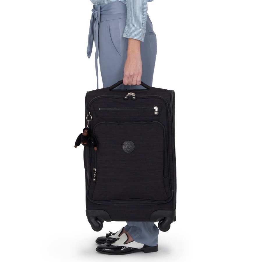 kipling koffer zwart dazz handbagage