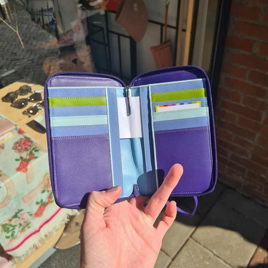 mywalit telefoon tasje portemonnee binnenkant