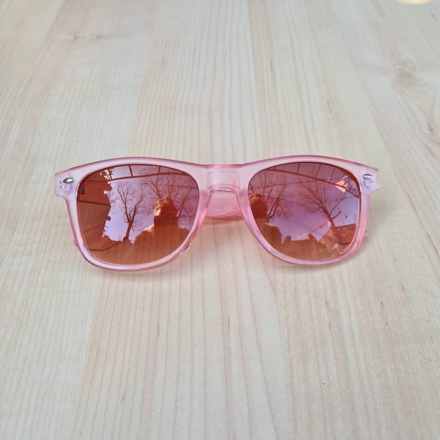 roze bril zonnebril