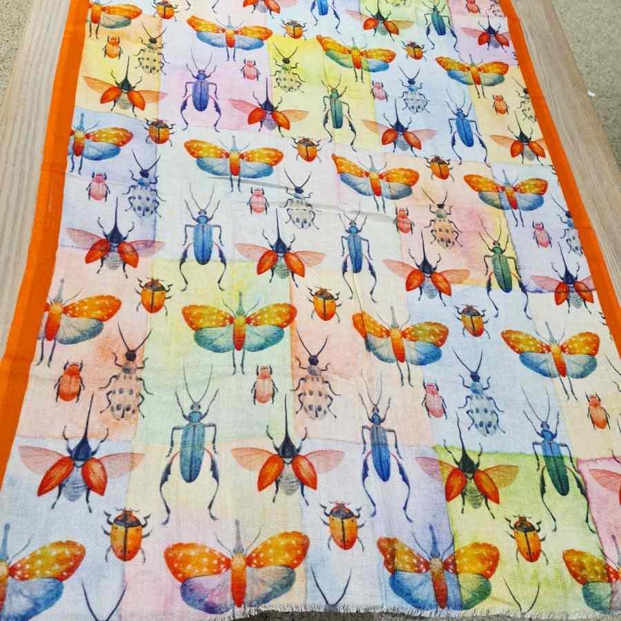 sjaal insecten modal zacht