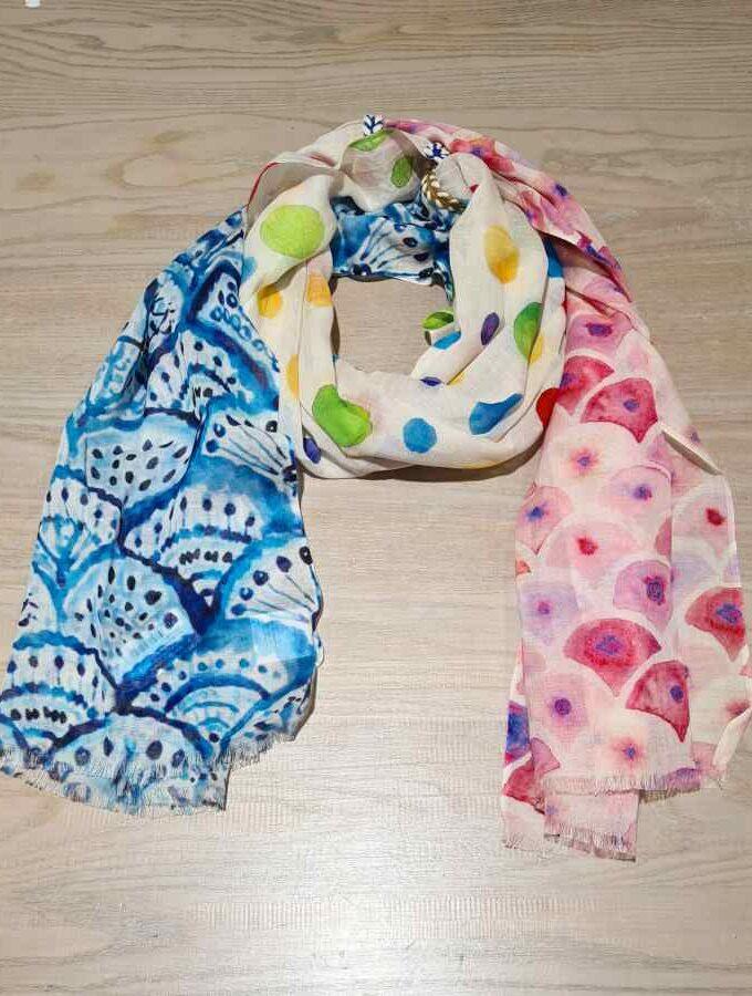 sjaal katoen modal verschillende vlakken