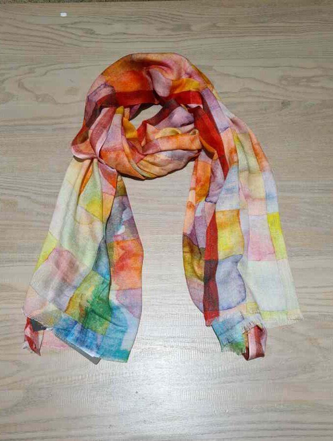 sjaal modal kleurrijk