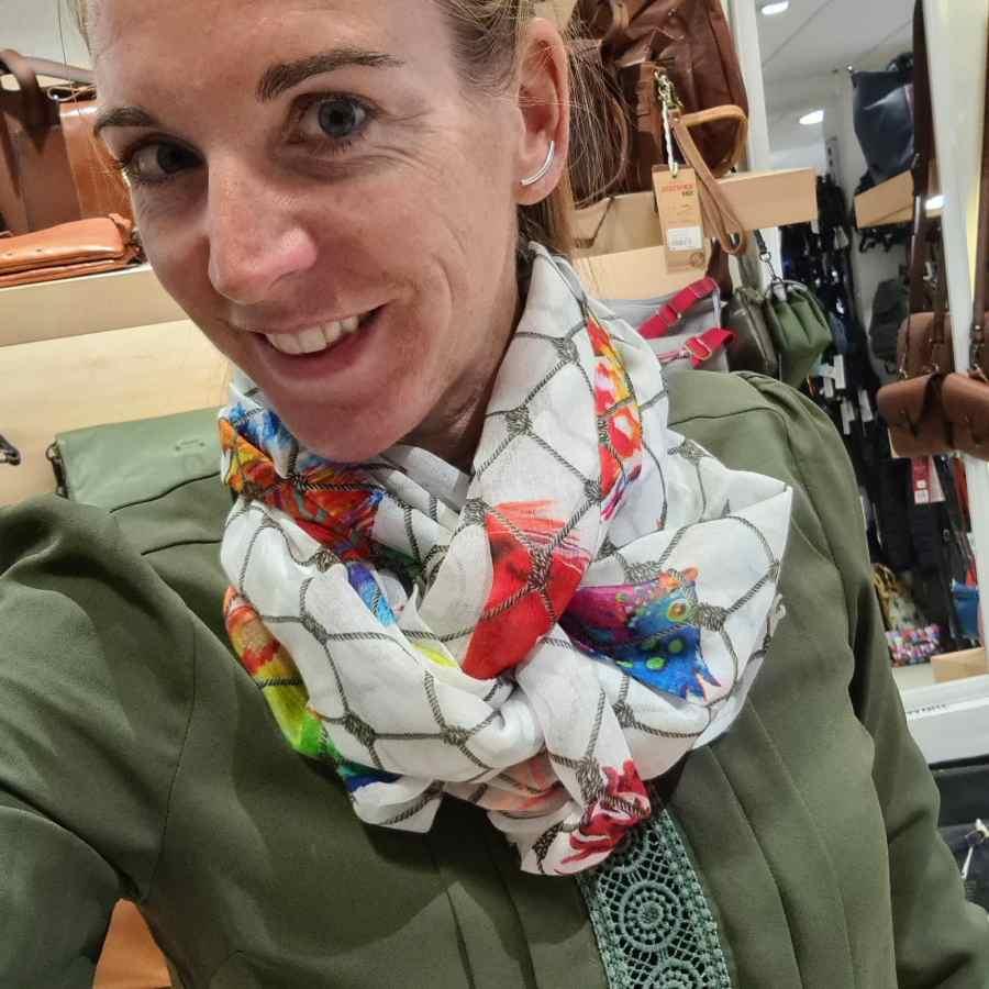 sjaal vissen modal zacht