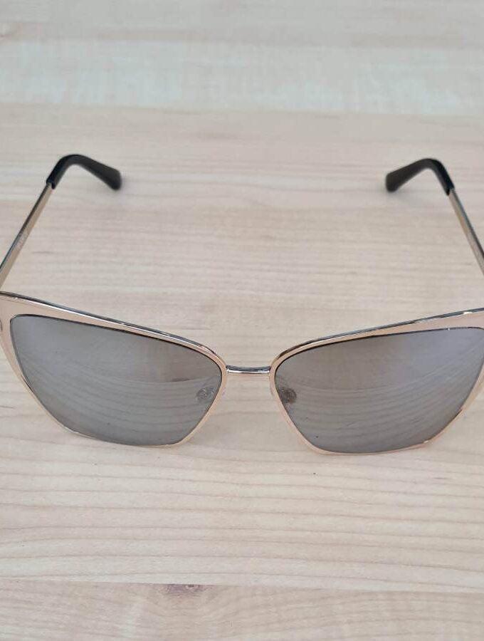 zonnebril zilver spiegel voorkant