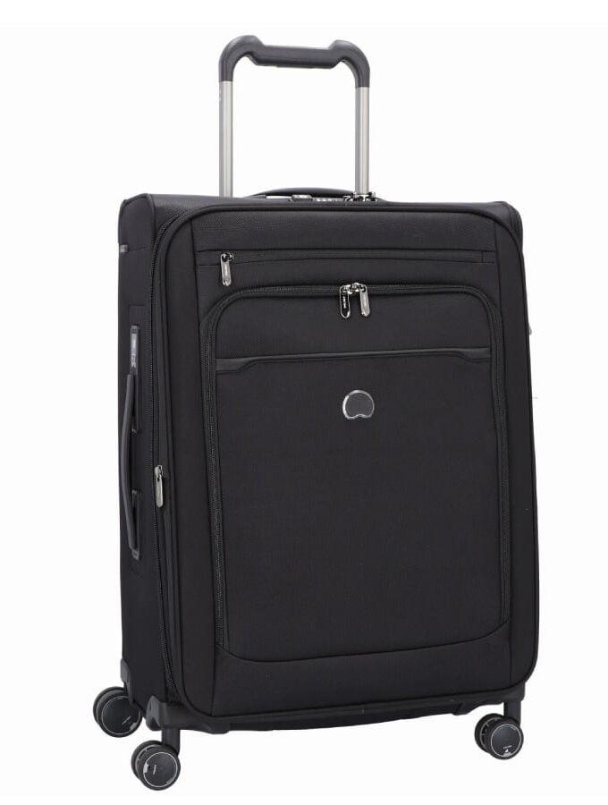 Delsey 1259811 zwart koffer met weegschaal