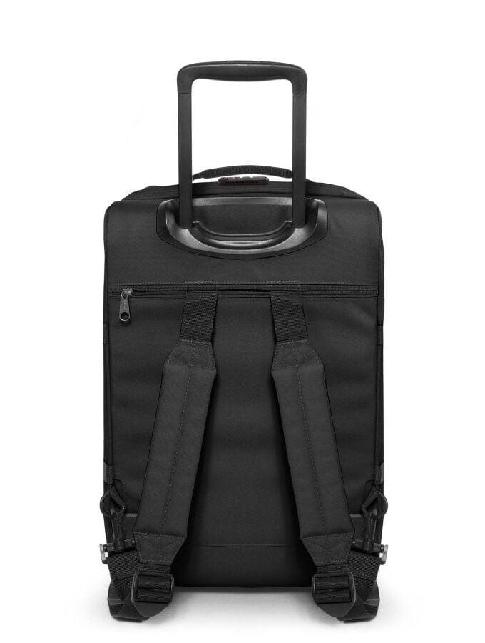 Eastpak Strapverz Trolley Backpack S black