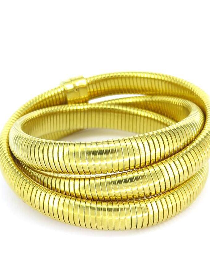 Armband gouden wikkel