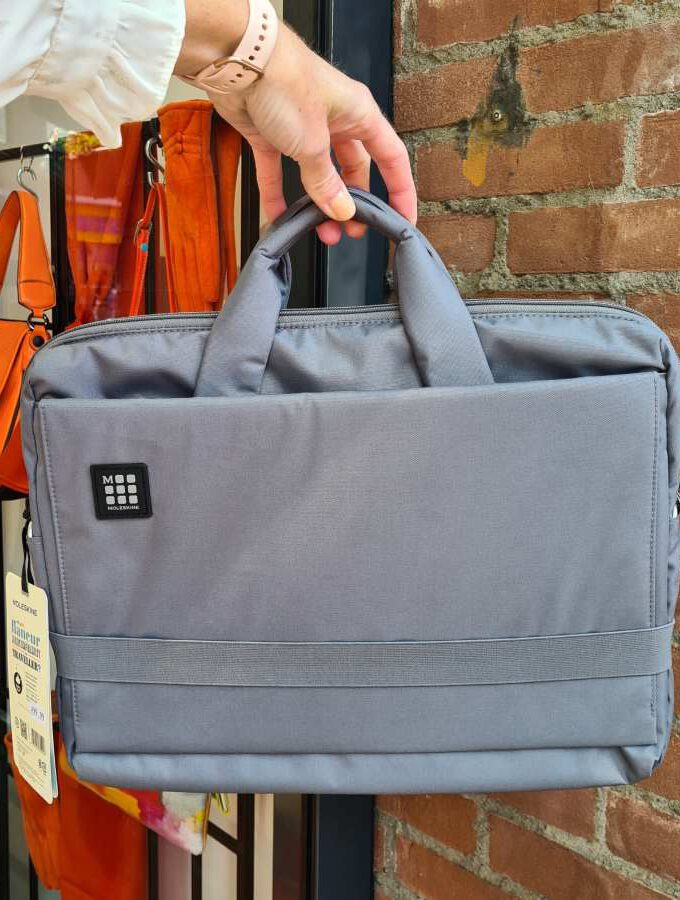 Platte laptoptas grijs Moleskine voor 15 inch