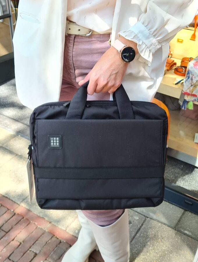 Moleskine zwarte laptoptas 13 inch