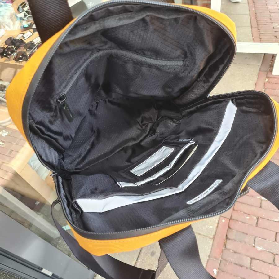 Moleskine Metro Device Bag Vert Orange Yellow