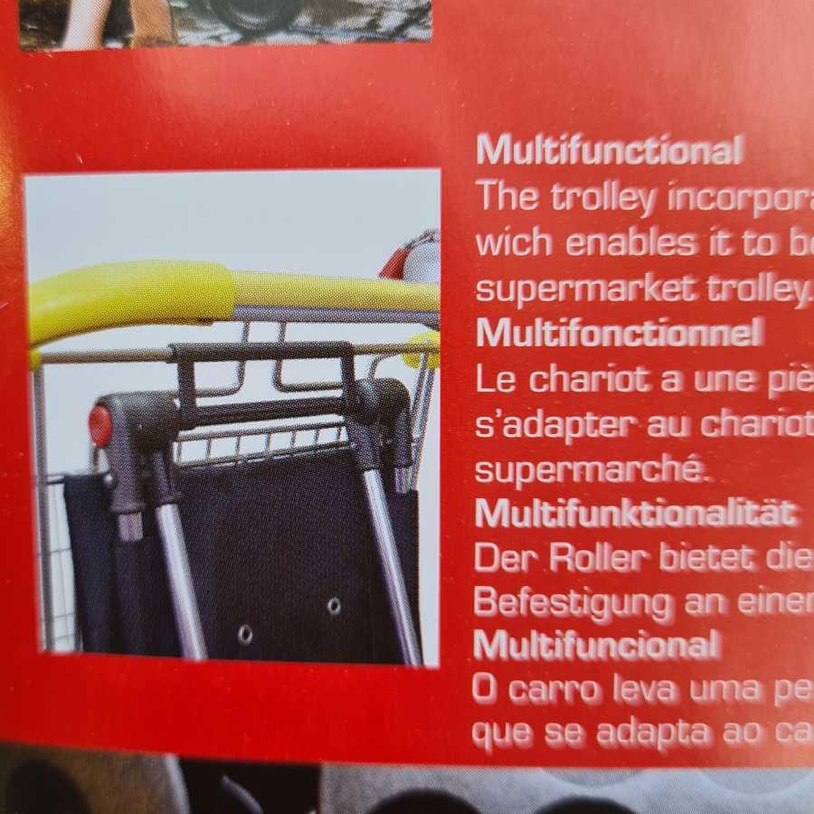 winkelwagen trolley boodschappen